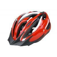Best Custom Specialized Adult Bicycle Helmet Red PC Shell Antibacterial Pad wholesale