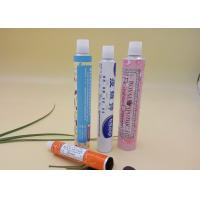 Collapsible Printed Tube Packaging For Ointment 20g Volume Thread Nozzle
