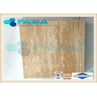 Flexible Honeycomb Stone Panels With Sound / Heat Insulation Hammer Bushed
