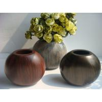 Quality Painted Round Ball Artificial Decorative Flower Vase For Party wholesale
