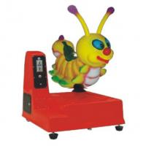 Coin operated amusement kiddie ride CE-Cartoon Worm