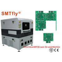 Quality FPC Separator Laser PCB Depaneling Machine 2500mm/S Laser Scanning Speed SMTfly-5L wholesale