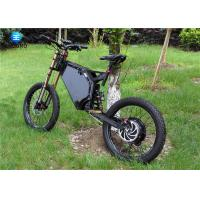 Quality Full Suspension Steel Electric Road Legal Enduro Bike 7 Speed Mountain Bike 80km/h wholesale