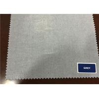 Plain 80% / 20% Cotton And Polyester Fabric For Men Women Clothes