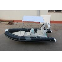 Best Abrasion Resistance Hard Bottom Inflatable Boat Fiberglass Hull With PVC Layer wholesale