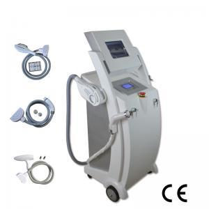 Buy cheap White IPL SHR RF ND YAG LASER IPL Beauty Equipment Vertical Type from wholesalers