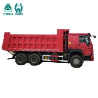Buy cheap Yellow Off Road Electric Dump Truck Heavy Duty 371 Hp 10 Wheels 6 X 6 from wholesalers