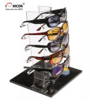 Quality Tabletop Acrylic Eyewear Display Rack For Brand Shop 5 Pairs Sunglasses Promotion wholesale