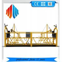 Quality Galvanized steel zlp 1000 suspended platform/ cradle/ swing stages wholesale