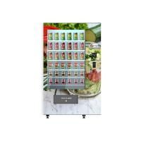 Best University School Intelligent Salad Vending Machine , Automated Salad Vending Tower wholesale