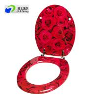 Best BSCI certified China direct manufacturer! Soft close hinges Urea toilet seat wholesale