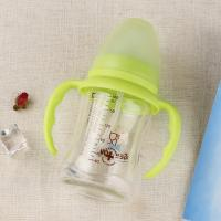 Quality Comfortable Baby Sipper Water Bottle , Shatterproof Non Spill Bpa Free Milk Bottles 240ml wholesale