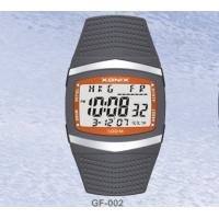 Quality Square Classic Gents Digital Watch With 15 Lap Memory Lithium Battery wholesale