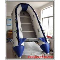 Best Cold Welding 5 Persons Foldable Inflatable Boat Inflatable Sailing Dinghy plywood floor wholesale