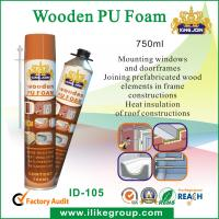 Quality Expanding Sound Insulation 750ml Pu Foam Spray / Seal For Bonding , Mounting wholesale