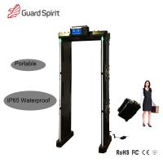 Quality High sensitivity Security Metal Detector door Walk through metal detector portable wholesale