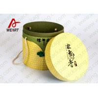 Quality Festival Used Lidded Cardboard Storage Boxes For Food Environment Friendly Material wholesale