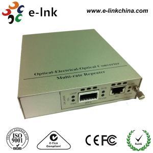 XFP To UTP Fiber Ethernet Media Converter , Multimode Fiber To Ethernet Converter
