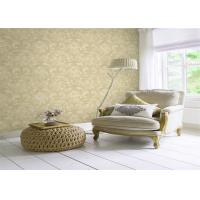 Quality Classical Non Woven Interior Design Wallpapers Washable With Embossed Surface wholesale