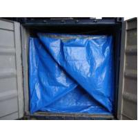 Best HDPE fabric dry bulk container liner for packing salted deer skins wholesale