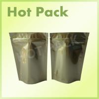 Quality Gold Printed Stand Up Aluminum Foil Packaging Bags For Pet Food Packaging wholesale