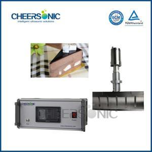 1600W Mousse Cake / Ice Cream Bars Food Slicing Machine With Ultrasonic Generator