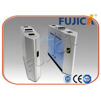 Buy cheap Web Based IP Biometric Flap Barrier / Gym And  Stadium Turnstile from wholesalers