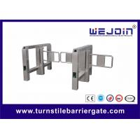 Best Anti-collision Automatic Turnstile Gates with Stainless Steel Housing and 900mm Arm wholesale