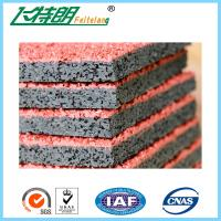 Best 13 mm Prefabricated Rubber Playground Mats Artificial Sport Running Track wholesale