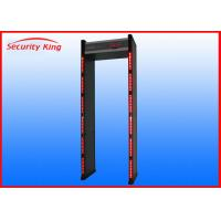 "Best 18 Detections Zone Walk Through Metal Detector XST-F18 With 3.7"" LCD Display wholesale"