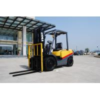 Quality Full Free Mast Hydraulic Diesel Forklift Truck 3 Ton For Freight Yard wholesale