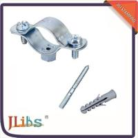 Quality Cast Iron Horizontal / Vertical Pipe Support Clamps For Ceilings Floor Mounting wholesale