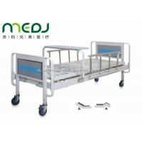 Quality Home Care Manual Hospital Bed MJSD06-04 With Aluminum Alloy Side Rail wholesale