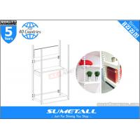 Best 4 Post Metal Storage Furniture Shelves / Warehouse Store Display Stands Customized wholesale