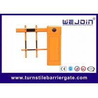 Best Straight Boom Automatic Car Park Barrier Gate Arms 6m Boom Length wholesale