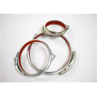Stainless Steel Quick Release Tube Clamp Link Tube Of Industry 80MM ~ 600MM