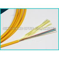 10G Data 12 Cores Flat Fiber Optic Ribbon Cable LSZH Rated Jacket