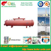 Quality Boiler Parts Coal Fired Boiler Steam Drum Corrosion Resistance For Industrial wholesale