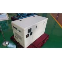 Quality 4 Pole Alternator 13 KVA Three Phase Diesel Generator With Sound Reducing Enclosure wholesale