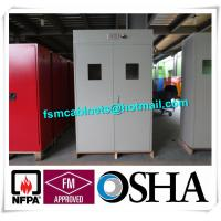 Best Full Steel Flammable Gas Cylinder Drum Storage Cabinets , Lab Drum Gas Cyliner Storage Cabinets wholesale