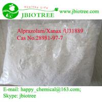 Quality 99.9% alprazolam/Xanax pure powder Cas No.28981-97-7 wholesale