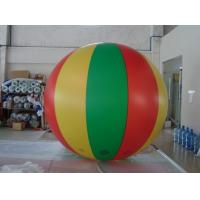 No priniting 2.5m dia. color mixed advertising balloon blimp Fireproof PVC Advertising Helium Balloons