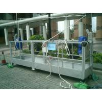 Suspended cradle system ZLP630 ZLP800, electric suspended scaffolding, gondola lift