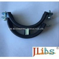 Best Heavy Duty Pipe Mounting Clamps , 1.8 - 2.0 mm Thickness Tube Strap Clamp wholesale
