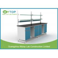 Durable Metal Physics Laboratory Furniture Work Benches For University / School