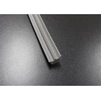 Best Gray Long Side EPDM Rubber Extrusion Embedded , Window Weather Stripping wholesale