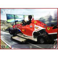 Quality 9D VR F1 driving machine with 3 screen super excited car games suitable for increasing shop atmosphere wholesale