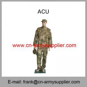 Wholesale Cheap China Army Desert Camouflage Military ACU Combat Uniform