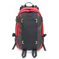 Quality Hiking backpack with functional hip belt and back system, 600D polyester fabric wholesale