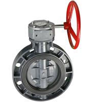 Quality Worm actuated wafer type butterfly valve wholesale